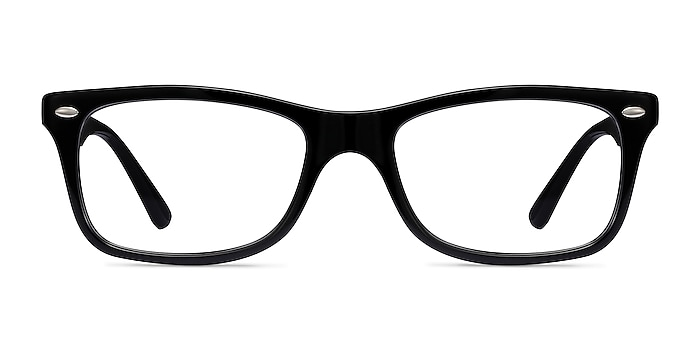 Ray-Ban RB5228 Black Acetate Eyeglass Frames from EyeBuyDirect