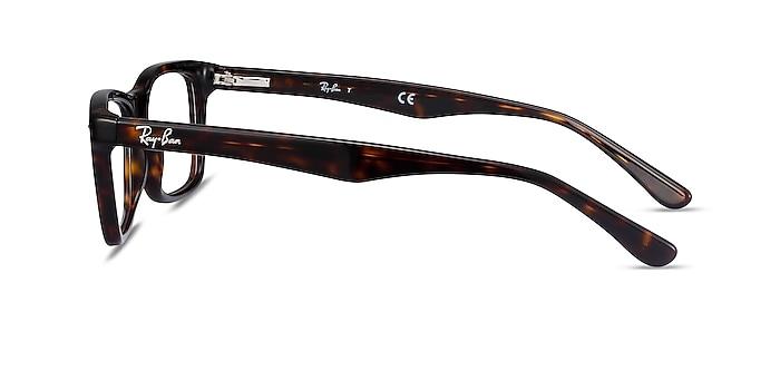 Ray-Ban RB5228 Tortoise Acetate Eyeglass Frames from EyeBuyDirect