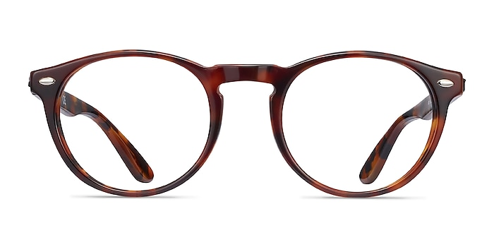 Ray-Ban RB5283 Tortoise Acetate Eyeglass Frames from EyeBuyDirect