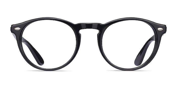 Ray-Ban RB5283 Black Acetate Eyeglass Frames from EyeBuyDirect