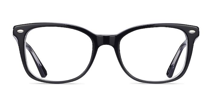 Ray-Ban RB5285 Black Acetate Eyeglass Frames from EyeBuyDirect