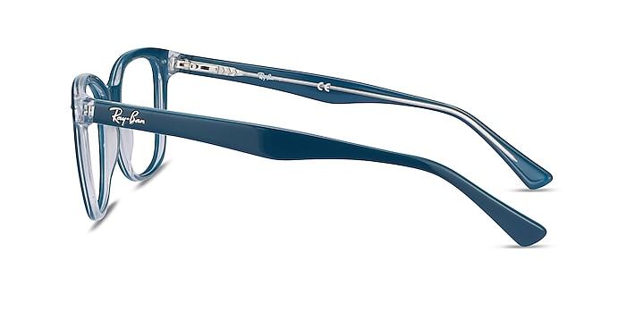 Ray-Ban RB5285 Blue Acetate Eyeglass Frames from EyeBuyDirect