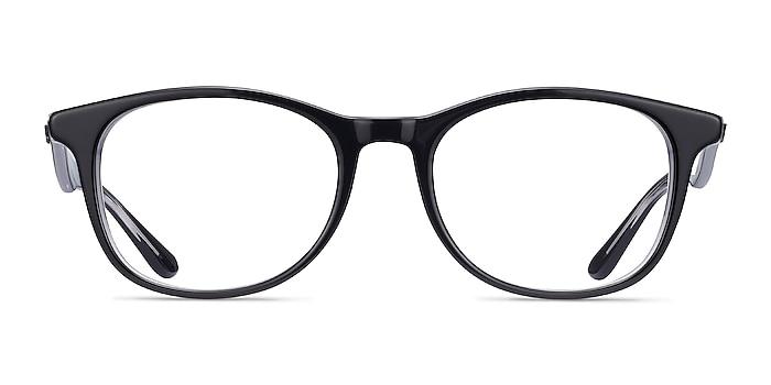 Ray-Ban RB5356 Black Acetate Eyeglass Frames from EyeBuyDirect