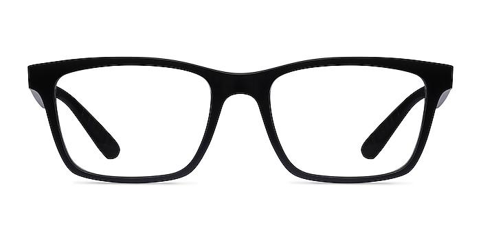 Ray-Ban RB7025 Black Plastic Eyeglass Frames from EyeBuyDirect
