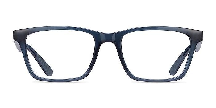 Ray-Ban RB7025 Blue Plastic Eyeglass Frames from EyeBuyDirect
