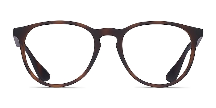 Ray-Ban RB7046 Tortoise Plastic Eyeglass Frames from EyeBuyDirect