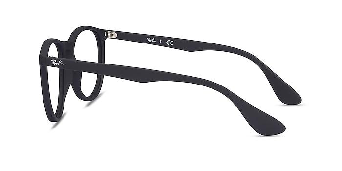 Ray-Ban RB7046 Black Plastic Eyeglass Frames from EyeBuyDirect