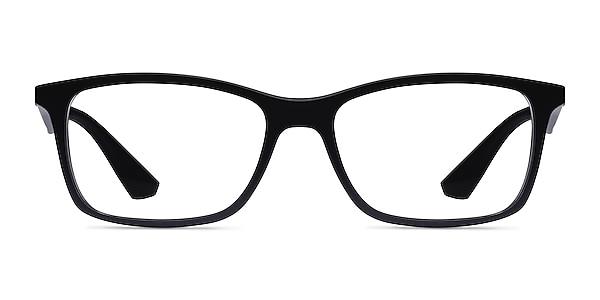 Ray-Ban RB7047 Black Plastic Eyeglass Frames