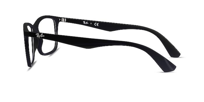 Ray-Ban RB7047 Black Plastic Eyeglass Frames from EyeBuyDirect