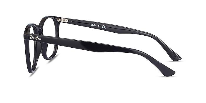 Ray-Ban RB7159 Black Plastic Eyeglass Frames from EyeBuyDirect