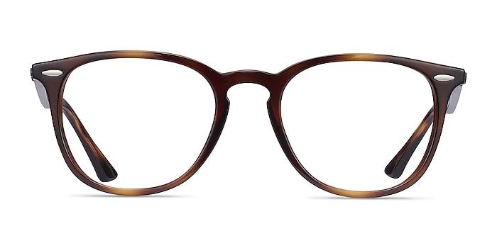 Ray-Ban RB7159 Tortoise Plastic Eyeglass Frames from EyeBuyDirect