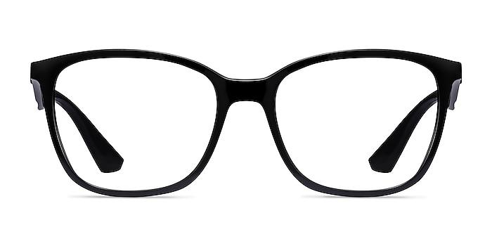 Ray-Ban RB7066 Black Plastic Eyeglass Frames from EyeBuyDirect