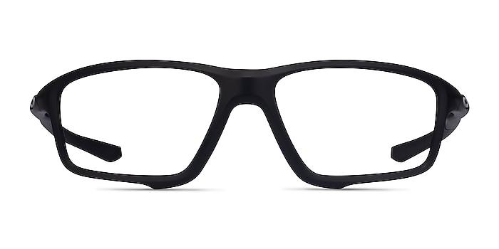 Oakley Crosslink Zero Satin Black Plastic Eyeglass Frames from EyeBuyDirect