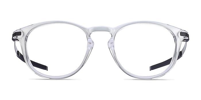 Oakley Pitchman R Clear Plastic Eyeglass Frames from EyeBuyDirect