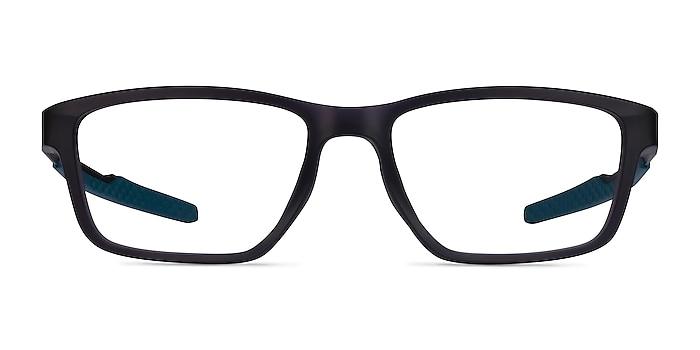 Oakley Metalink Satin Gray Smoke Plastic Eyeglass Frames from EyeBuyDirect