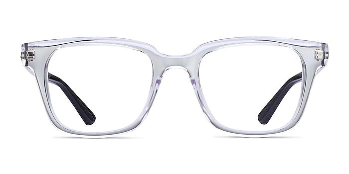 Ray-Ban RB4323V Clear Plastic Eyeglass Frames from EyeBuyDirect
