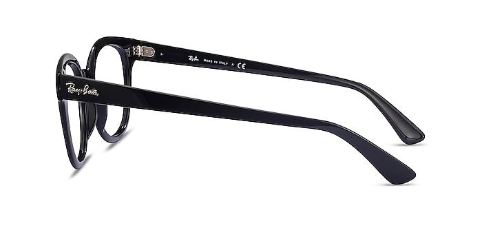 Ray-Ban RB4324V Black Plastic Eyeglass Frames from EyeBuyDirect