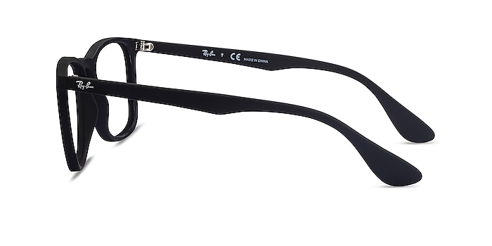 Ray-Ban RB7074 Black Plastic Eyeglass Frames from EyeBuyDirect