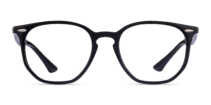 Ray-Ban RB7151 Black Acetate Eyeglass Frames from EyeBuyDirect
