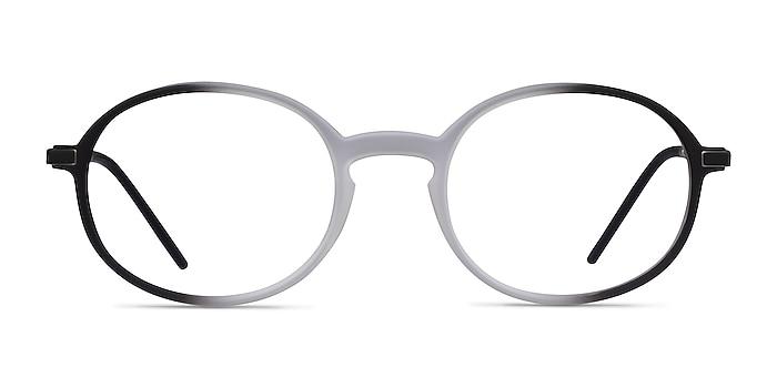 Ray-Ban RB7153 Clear Black Metal Eyeglass Frames from EyeBuyDirect