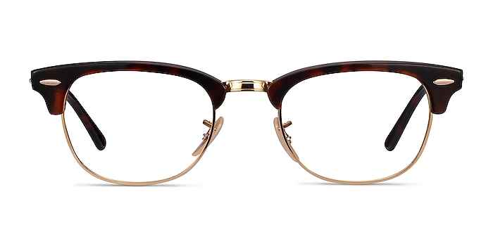 Ray-Ban RB5154 Gold Tortoise Acetate-metal Eyeglass Frames from EyeBuyDirect