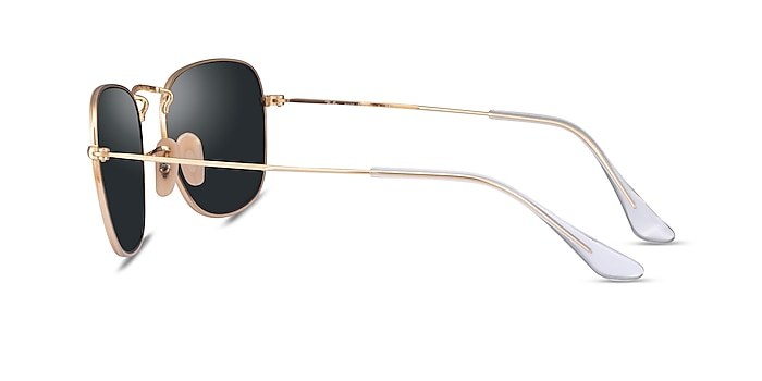 Ray-Ban Frank Legend Gold Metal Sunglass Frames from EyeBuyDirect
