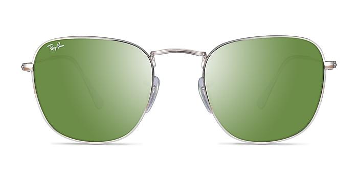 Ray-Ban Frank Silver Metal Sunglass Frames from EyeBuyDirect