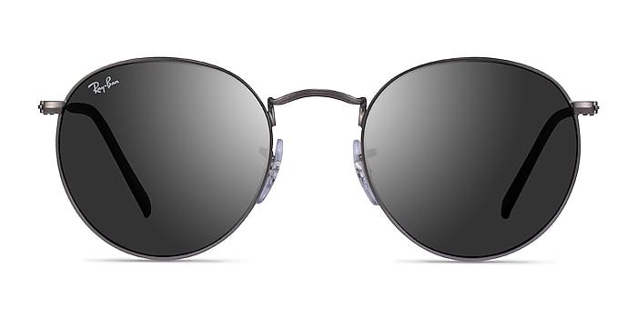 Ray-Ban RB3447 Matte Gunmetal Metal Sunglass Frames from EyeBuyDirect