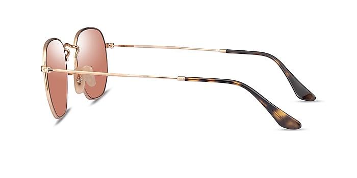Ray-Ban RB3548N Arista Brown Metal Sunglass Frames from EyeBuyDirect