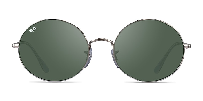 Ray-Ban RB1970 Silver Clear Metal Sunglass Frames from EyeBuyDirect