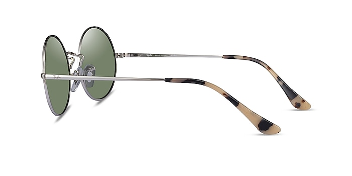 Ray-Ban RB1970 Silver Ivory Tortoise Metal Sunglass Frames from EyeBuyDirect