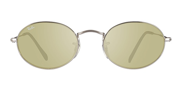Ray-Ban RB3547 Silver Gray Metal Sunglass Frames