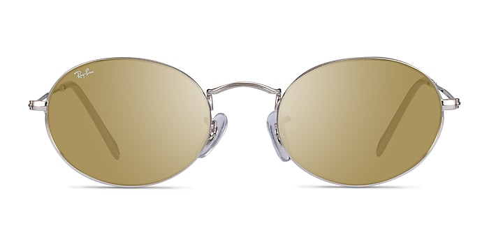 Ray-Ban RB3547 Silver Metal Sunglass Frames from EyeBuyDirect