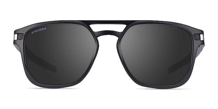 Oakley Latch Beta Matte Black Plastic Sunglass Frames from EyeBuyDirect