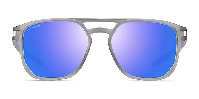 Oakley Latch Beta Matte Gray Ink Plastic Sunglass Frames from EyeBuyDirect