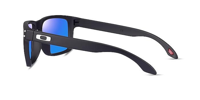 Oakley Holbrook Matte Black Plastic Sunglass Frames from EyeBuyDirect