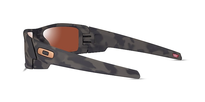 Oakley Gascan Matte Olive Camo Plastic Sunglass Frames from EyeBuyDirect