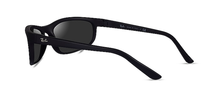 Ray-Ban RB2027 Black Plastic Sunglass Frames from EyeBuyDirect