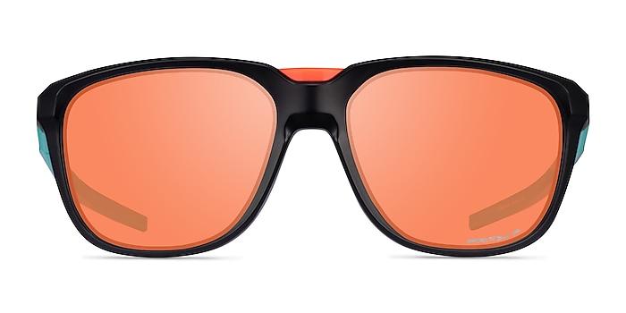 Oakley Anorak Black Plastic Sunglass Frames from EyeBuyDirect