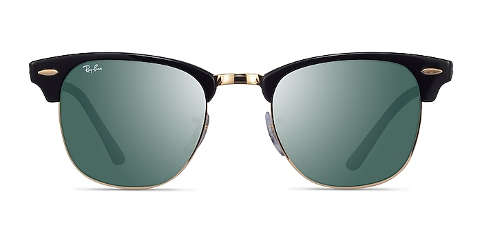 Ray-Ban RB3016 Black Acetate Sunglass Frames from EyeBuyDirect