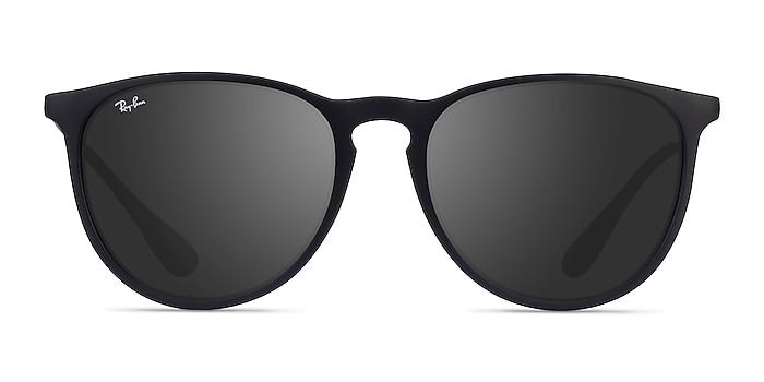 Ray-Ban RB4171 Erika Black Plastic Sunglass Frames from EyeBuyDirect