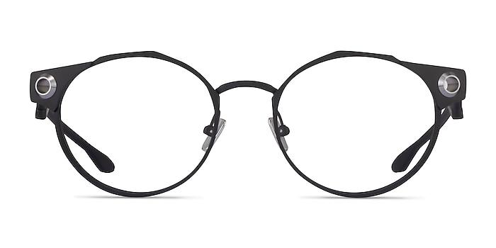 Oakley Deadbolt Black Titanium Eyeglass Frames from EyeBuyDirect