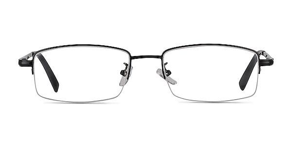 Craig Black Metal Eyeglass Frames