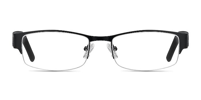Chilliwack Noir Métal Montures de lunettes de vue d'EyeBuyDirect