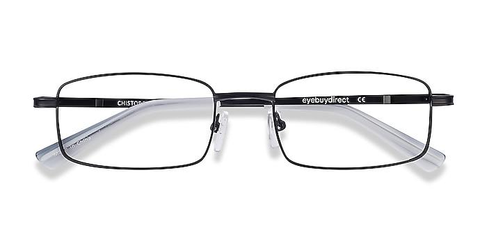 Black Chistopol -  Lightweight Metal Eyeglasses