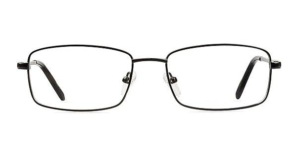 Braydon Black Metal Eyeglass Frames