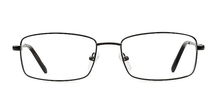 Braydon Black Metal Eyeglass Frames from EyeBuyDirect