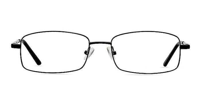 Brodie Noir Métal Montures de lunettes de vue d'EyeBuyDirect
