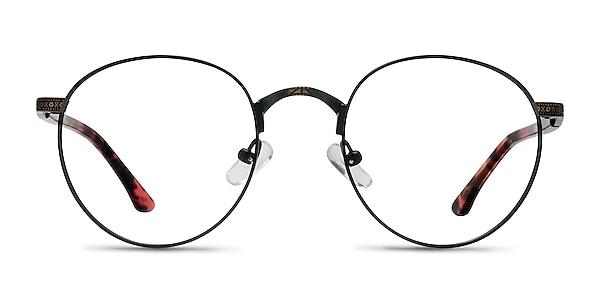 Fitzgerald Matte Black and Tortoise Metal Eyeglass Frames