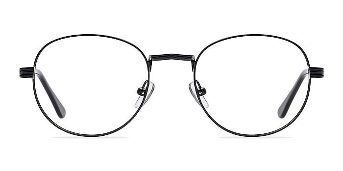 Belleville Matte Black  Métal Montures de lunettes de vue d'EyeBuyDirect